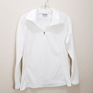 Womens columbia pull over fleece